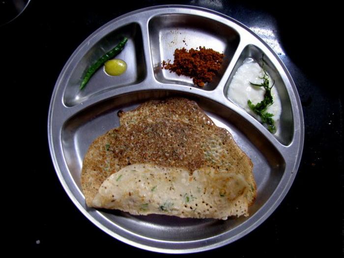 Индийская кухня: блинчики доса
