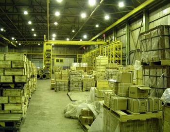 Упал спрос на рынке складских помещений в Москве. Прогноз на 2010 год