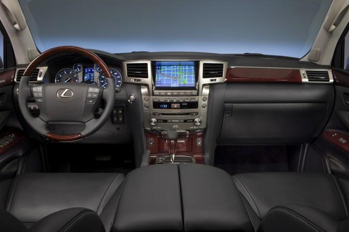 160 Lexus - Lexus LX570 — модель 2014 года: роскошь в глобальном масштабе