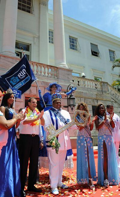 В Рио-де-Жанейро начался знаменитый карнавал. Фоторепортаж