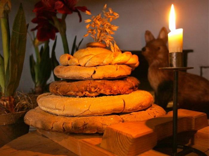 Рождественский финский хлеб