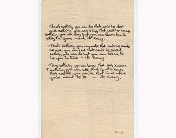 161 DLEN - Рукопись песни Леннона выставлена на торги. Видео