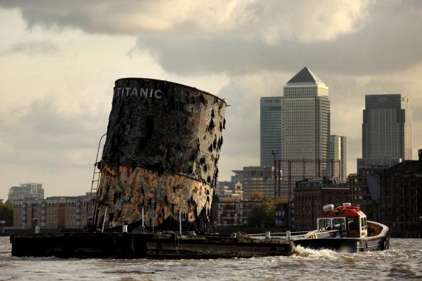 «Титаник». Выставка артефактов  в Лондоне