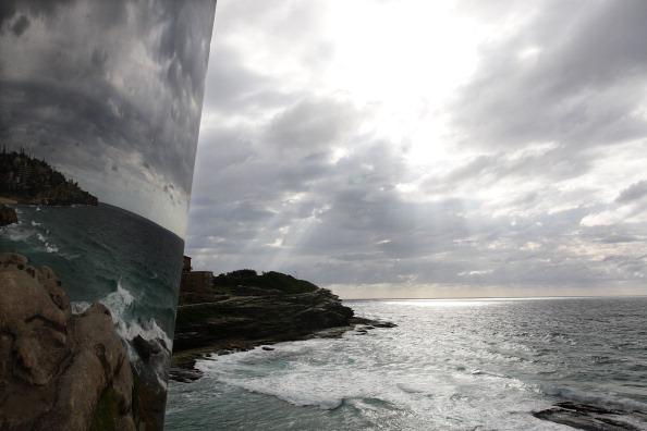 «Скульптуры у моря» - художественная выставка на побережье Австралии