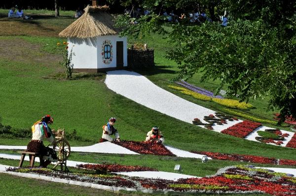 75 kii 3 - Выставка цветов «Река вышиванок» открылась в Киеве