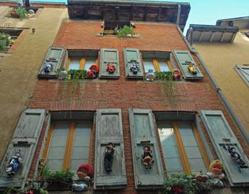 La ville rose, или Город из красного кирпича