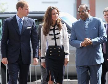 Принц Уильям и Кейт Миддлтон открывают детский онкологический центр