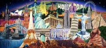 206 world landmarks collage e1271380136265 - Календарь ярких событий года