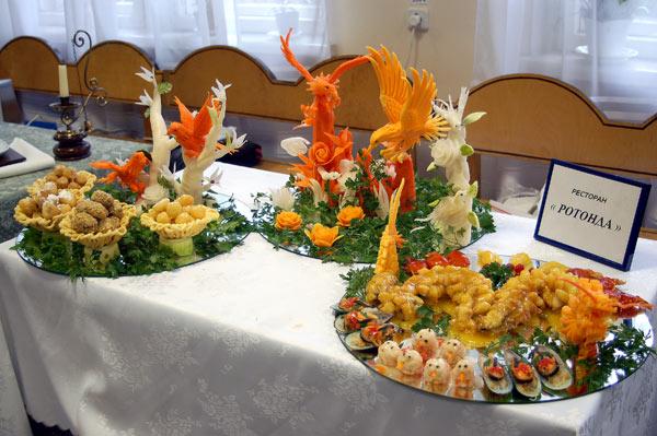 Международные соревнования по кулинарии и сервису «Золотая Кулина-2010». Фотообзор