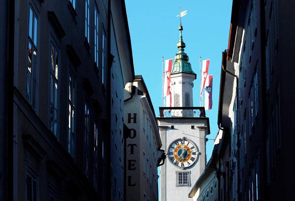 Зальцбург – место рождения Моцарта