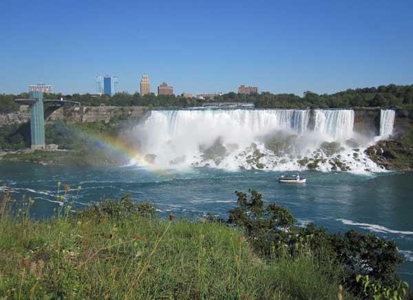 Ниагарский водопад - жемчужина Америки