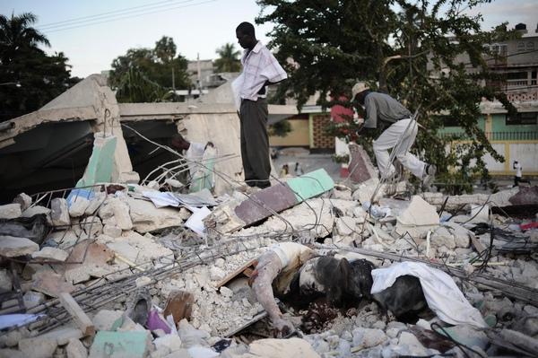161 150110 G19 - Землетрясение на Гаити — одно из самых страшных в мировой истории. Фоторепортаж
