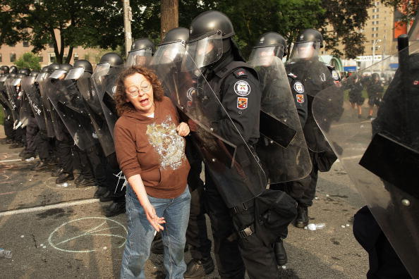 Саммит «Большой двадцатки» в Торонто был отмечен беспорядками. Часть 2. Фоторепортаж