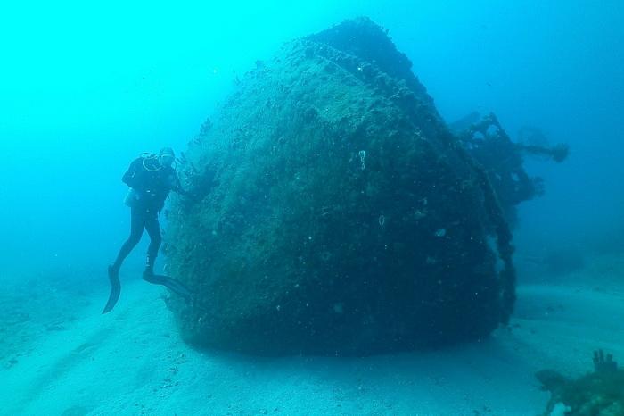 163 Wet Temptations8 - Знакомство с подводным миром в районе Палм-Бич с борта Wet Temptations