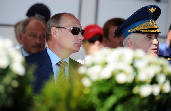 На авиасалоне МАКС-2011 в Жуковском продемонстрировали российский истребитель пятого поколения
