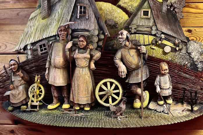 Лучшие традиции народных промыслов представлены в музее деревянного зодчества под Рязанью