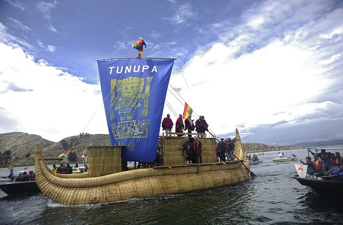 На озере Титикака подготовились ко дню летнего солнцестояния 21 декабря