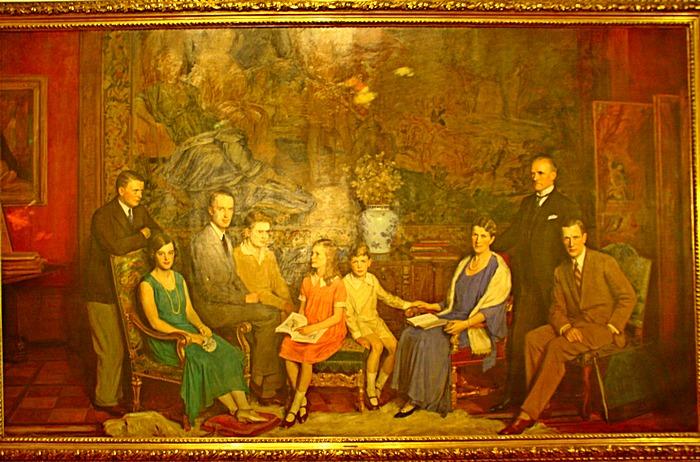190 Villa Hugel1 - Вилла Хюгель в Эссене: история семьи промышленников