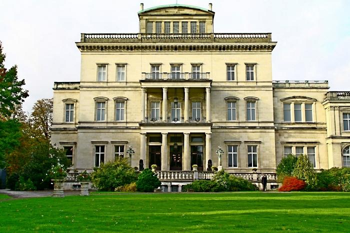 190 Villa Hugel18 - Вилла Хюгель в Эссене: история семьи промышленников