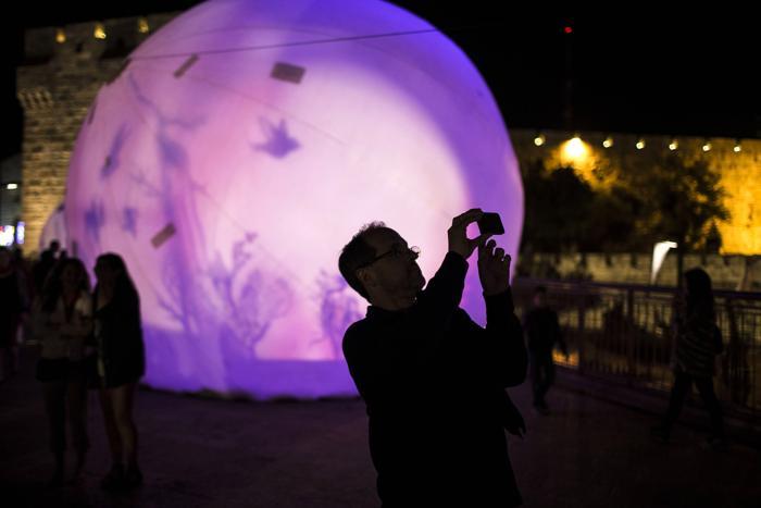 В Иерусалиме начался фестиваль света
