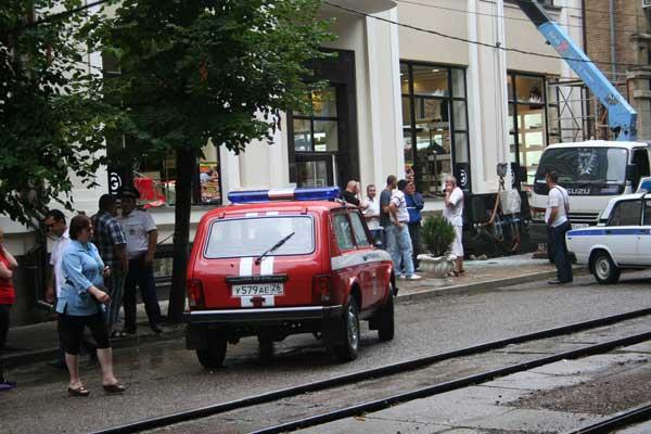 В центре города-курорта Пятигорска  прогремел взрыв