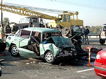 В 2009 году на российских дорогах погибли 24 тысячи человек