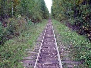 Начальник колонии сдал на металлолом 50 км железной дороги