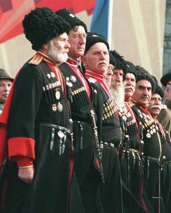 В Ессентуках  Александр Хлопонин встретился с атаманом Терского казачьего войска