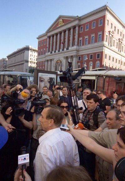 """""""День гнева"""" закончился задержанием 30 участников, которые ночью были  отпущены. Фоторепортаж"""