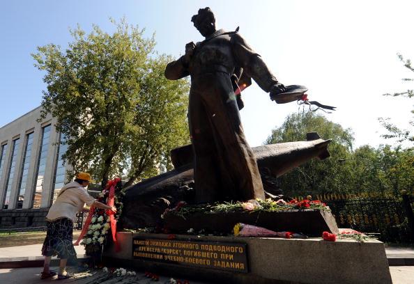 """161 kursk6 - """"Курск"""" 10 лет спустя. Траурные церемонии в  память о моряках-подводниках с АПЛ """"Курск"""" прошли во многих городах"""