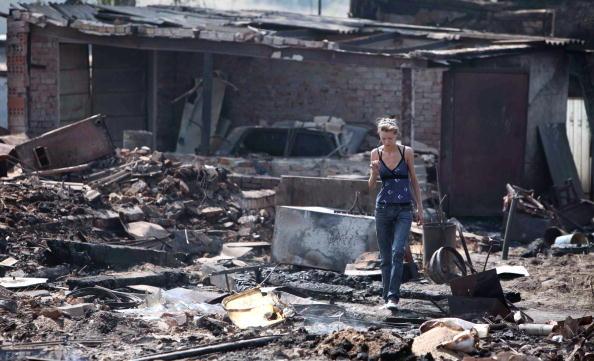Пожары в Кулебакском районе Нижегородской области. Возникшие за сутки новые очаги принесли новые жертвы. Фоторепортаж