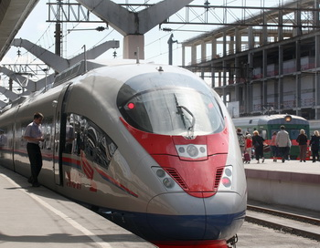 Хулиганские действия нарушили движение скоростных поездов «Сапсан»