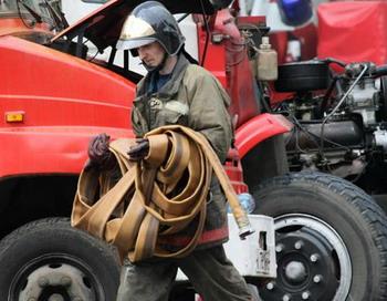 Пожар в Николаевке Михайловского района Алтайского края полностью ликвидирован