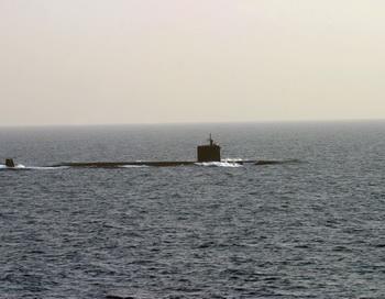 Для испытания «Булавы» атомная подводная лодка «Дмитрий Донской» вышла в море