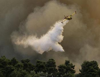 Дым от горящих торфяников распространился на центр Москвы