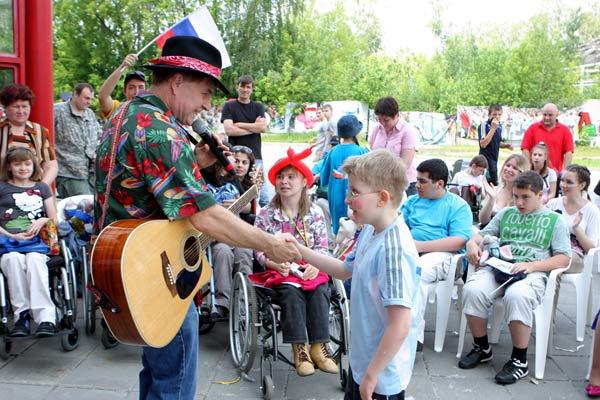 Благотворительная акция «Под флагом добра!» состоялась в Москве. Фоторепортаж