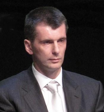 Миллиардер Михаил Прохоров готов стать премьер-министром РФ