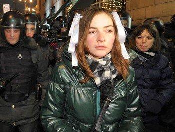 Всех задержанных на акции в центре Москвы отпустили до Нового года