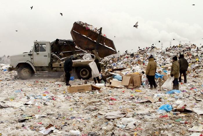 Количество отходов в России составляет более 30 млрд тонн
