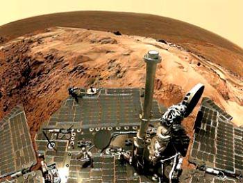 """""""Спирит"""" навсегда застрял в марсианских песках"""