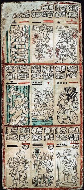163 0410 02 Maya - Электронная копия Кодекса майя доступна в Интернете