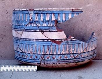 Таинственный синий цвет древнего Египта