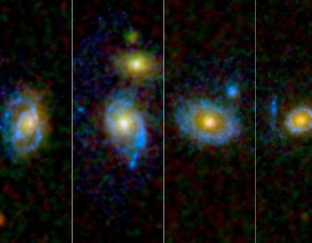 Огромные круги света вокруг галактик обнаружило НАСА