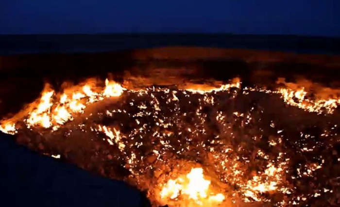 163 Gate of Hell Turkmenistan 2 - Врата ада на Земле