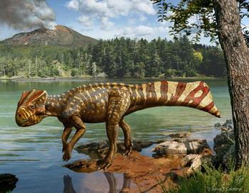 Обнаружен новый род динозавров-кореясерадопсов, которые, возможно, были хорошими пловцами