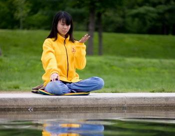 Краткая медитация помогает концентрации
