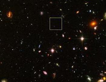 178 23 10 2010galaktika - Обнаружена самая древняя и далёкая галактика во Вселенной
