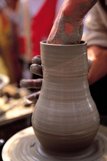 75 glina - Глиняные вазы в качестве магнитофонов?