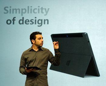 Стив Балмер: Это новый Microsoft Surface — и это планшет