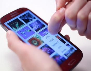 Технология  FingerSense  распознаёт  тип касания
